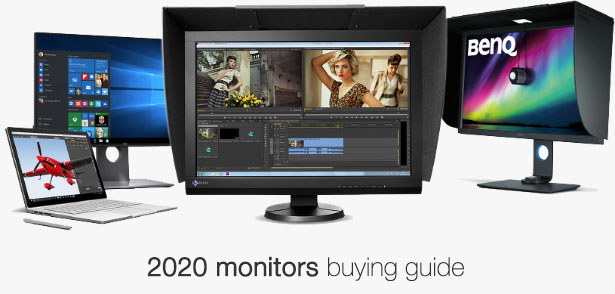 Tips for choosing your photo editing or video editing monitor