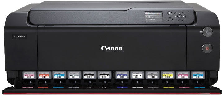 Loading Canon Pro-1000 cartridges